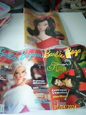 2004 Barbie Bazaar Magazines set of 3 one new