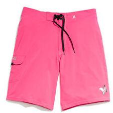 Hurley Phantom Solid Boardshort (38) Neon Pink