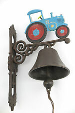 Cloche de jardin Paroi de CLOCHE TRACTEUR cloche en métal Cloche de Bateau ferme