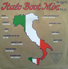 """7"""" 80s ! ITALO BOOT MIX , Vol. 10 // MINT- \"""