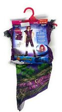 Halloween Disney Descendants 2 Girl's Mal Costume  - Kids Size Small (4-6)