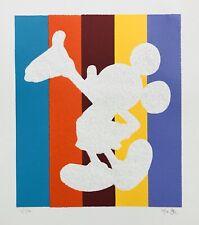 MICKEY MOUSE Disney signed by Emo Raphiel Astoria DIAMOND DUST un banksy gift