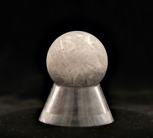 Gorgeous GIBEON Meteorite Sphere 77g
