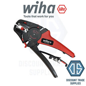 WIHA 42062 Electrician Automatic Stripping Skinning Trimming Tool Upto 16 mm²
