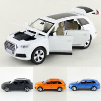 Audi Q7 SUV 1/32 Model Car Metal Diecast Gift Toy Vehicle Kids Collection