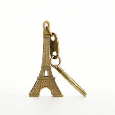 1X Bronze Tone Paris Eiffel Tower Figurine Statue Alloy Model Decor jbG