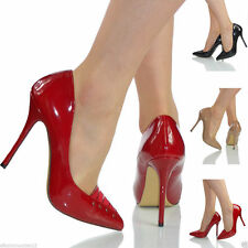 High Heel (3-4.5 in.) Women's Patent Leather Party