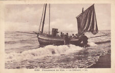 BATEAU MER barques voilier promenade en mer timbrée