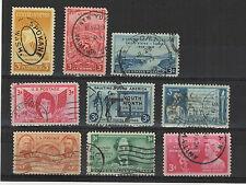 U.S.A. États-Unis 1948 9 timbres oblitérés  /T2034