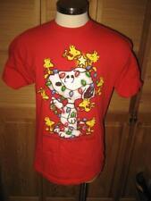 Snoopy Woodstock Christmas T Shirt L Mint