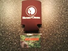 Brand new Mutual of Omaha majestic gorilla lens cleaner & maroon can/cup cozi!!!
