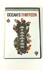 Ocean's Thirteen DVD / George Clooney, Brad Pitt, Matt Damon Widescreen Edition