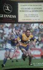 CLARE V TIPPERARY 14/9/1997 GAA ALL IRELAND HURLING FINAL