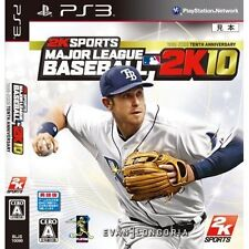 Sony Play Station 3 Game Major League Baseball 2K10 2010 Pre-Owned
