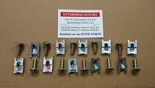 Land Rover Series 2 2A 3 Floor Screws & Spire Captive Nuts