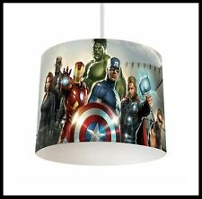 AVENGERS - Boys Bedroom Lightshade Lampshade for Ceiling Fitting