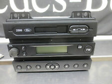 Ford 2500 Stereo Cassette Radio Head unit with Key Code Teil Nr. 1332700