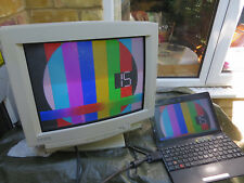 Mitsubishi Colour CRT VGA 16inch Display Screen Monitor SD7704C