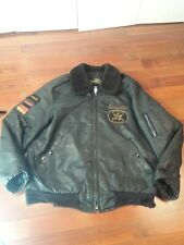 TIMBER KING USAF US AIR FORCE MILITARY BOMBER COAT Bradley fighting vehicles