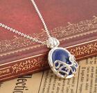 Blue Crystal Necklace Pendant The Vampire Diaries Katherine Anti-sunlight Drop