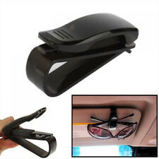 1X Black Sun Visor Glasses Sunglasses Card Ticket Holder Clip Universal Car Auto