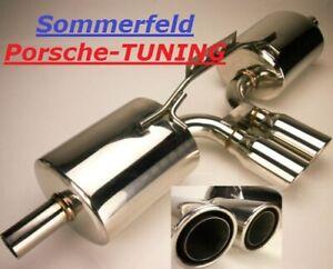 Porsche Boxster 986 + S Sportauspuff Auspuff Sport Exhaust Muffler