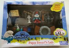 The Smurfs Papa Smurf's lab Figure Movie Moment Adventure Pack Jakks