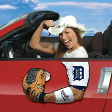Detroit Tigers Arm Hand Magnet MLB Football Car Decal
