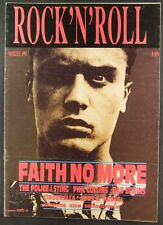 FAITH NO MORE The Police,Cinderella,Phil Collins,Bad Brain,Marillion mag.1991