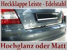 TOYOTA YARIS 5Tür 2005-2011 Heckklappe Leiste aus  Edelstahl,Hochglanz oder Matt