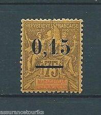 MADAGASCAR TYPE I - 1902 YT 54 - TIMBRE NEUF* charnière