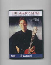 Segovia Style - Classical Guitar Lesson *New Dvd