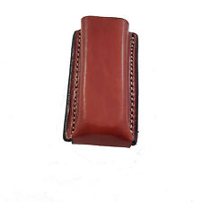 Armadillo Holsters Leather Single Mag Pouch for Single Stack Magazines