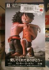 Banpresto One Piece Luffy Cry Heart Series Figure Volume 3