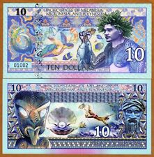 Pacific States of MMP, $10 Private Issue Polymer > Fisherman Turtle, Pearl Diver
