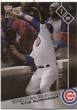 Kyle Schwarber Chicago Cubs Topps Now #121 May 7 2017 Baseball Card