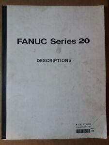 Fanuc Series 20 Descriptions Manual