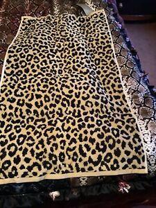 Zara Home Leopard Print Towel 50cms By 90cms