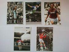 Barclays premier league limited edition postcards A6