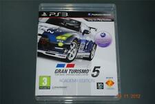 Gran Turismo 5 Academy Edition PS3 Playstation 3 ** GRATIS UK FRANQUEO **
