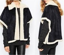 Shearling Polyester Coats, Jackets & Vests for Women