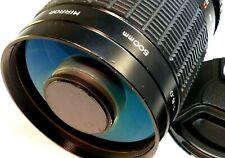ROKUNAR 500mm f8 Mirror Lens for SONY E mount NEX ILCE α6300 α6100 α7R II camera
