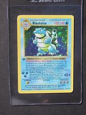 Pokemon 1ST EDITION BLASTOISE 2/102 - SHADOWLESS BASE SET HOLO (PL)