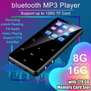 32GB bluetooth MP3 Player HIFI Sport Music Speakers MP4 Media Portable FM Radio