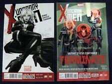 New listing Uncanny X-Men Marvel Now Lot of 2 # 2 & 11