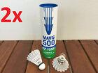 12x YONEX MAVIS 500 Quality Volant Nylon Badminton Shuttlecocks Shuttle Blue Cap
