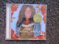 "SARA EVANS ""ALWAYS THERE"" 2006 HALLMARK STILL SEALED 8TRX. PROMO STICKERED CD"