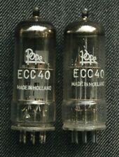 2x Pope/ Philips ECC 40 / NOS
