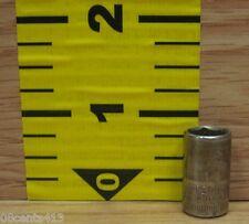 "Craftsman (43507) 1/4"" Drive 9mm 6 Point Standard Length Socket -G Series-"
