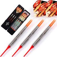Cuesoul Tungsten Soft Tip darts with18 grams Tungsten barrels 030 Dart Set